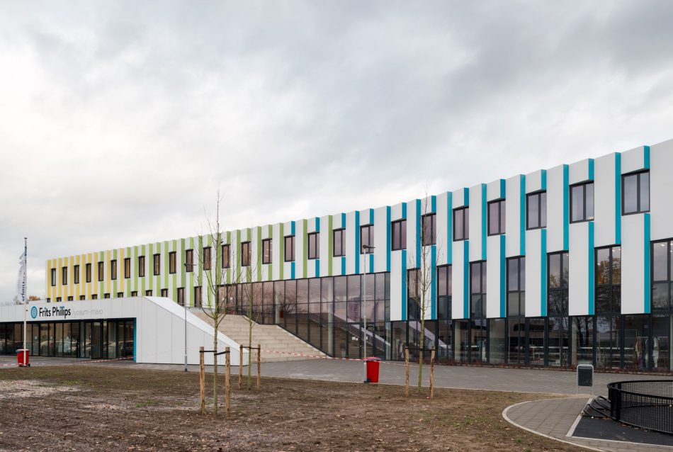Nieuwbouw Frits Philips lyceum Eindhoven
