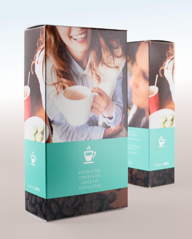 Vormgeving van een full colour verpakking