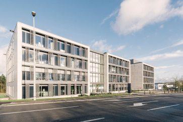 Modern Verzamel-kantoorgebouw in Luxemburg