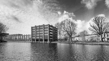 Beeld van de 'Citadel' in Woerden op het Defensie-Eiland.