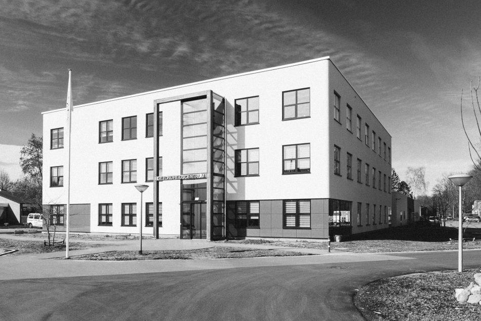 Nieuwbouw gezondheidscentrum Cruqius