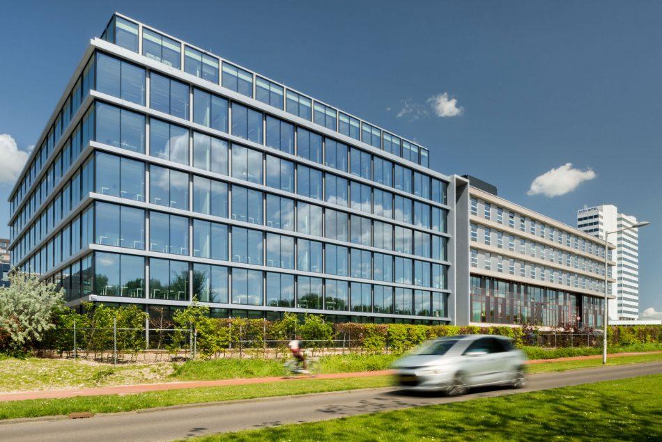 Architectuurfoto van Rotterdam Business School