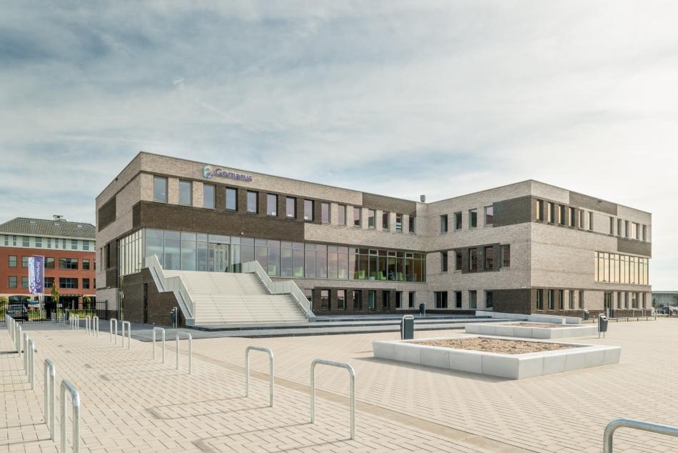 Architectuurfotografie van een schoolgebouw in Zaltbommel