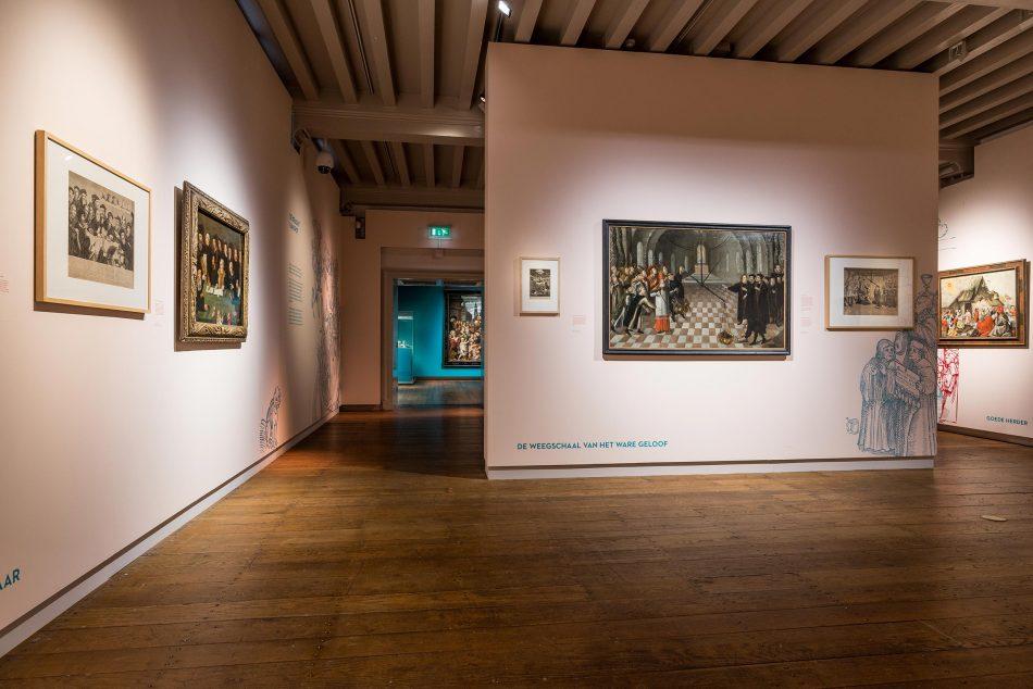 Zaal in het Museum Catharijneconvent Utrecht