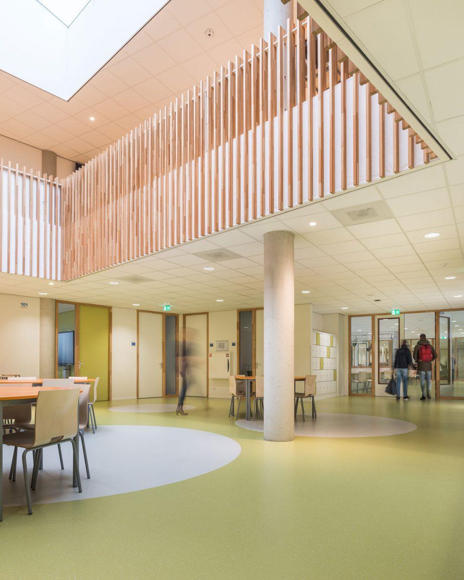 Interieurfotografie in het Frits Philips Lyceum te Eindhoven
