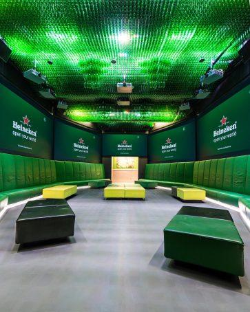 Interieurfotografie in het Heineken Experience Amsterdam