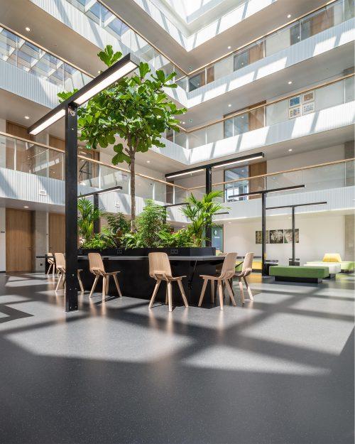 Interieurfoto Van De Business School Rotterdam