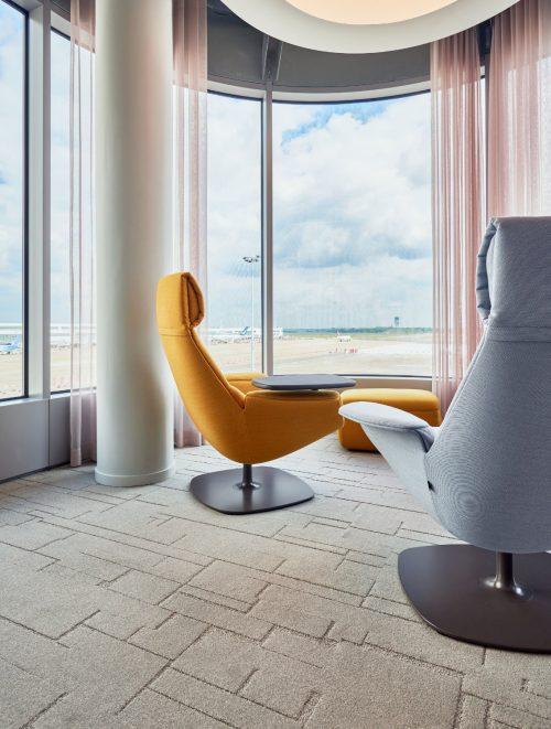 Interieurfoto Gemaakt Op Luchthaven Zaventem