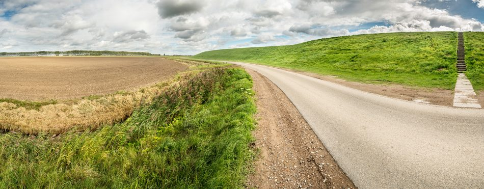 Panorama landschap Rilland