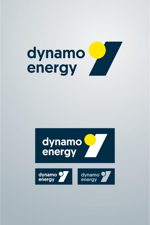 Logo en varianten voor dynamo energy
