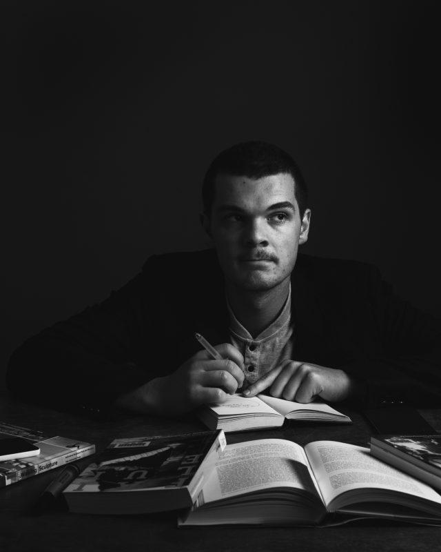 Zwart wit portretfotografie