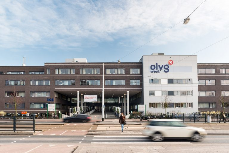 Architectuurfotografie | Exterieur ziekenhuis OLVG west