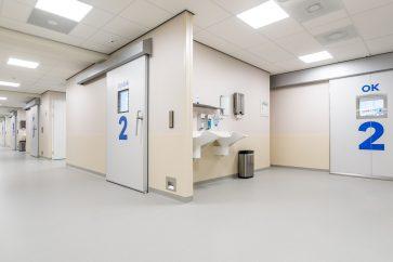 Architectuurfotografie | Interieur ziekenhuis OLVG west