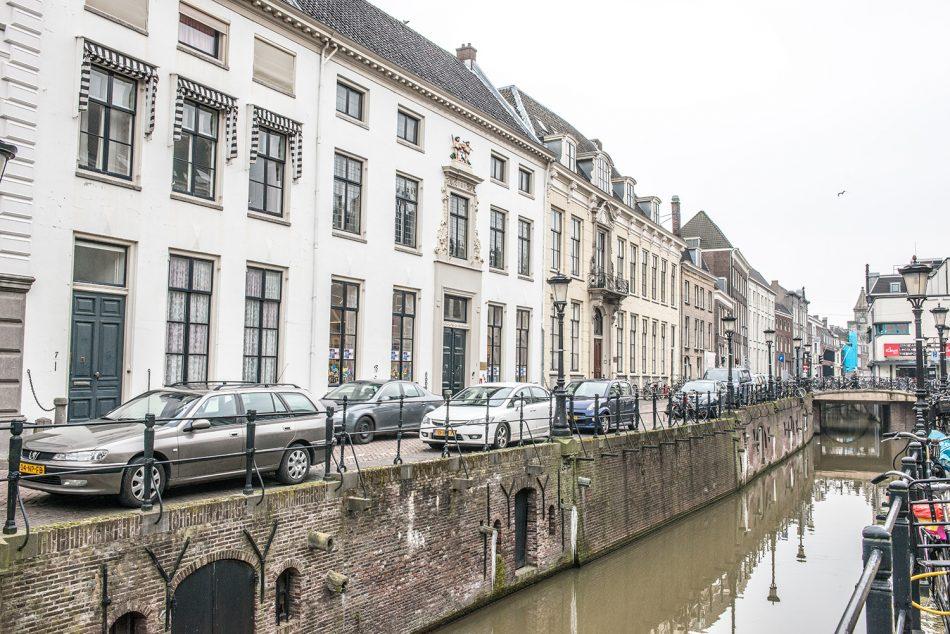 Koorschool Utrecht aan de gracht.