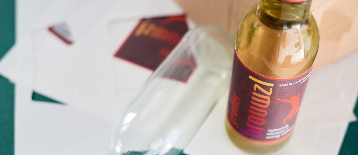 Productsample Van Een Nieuw Bierproduct