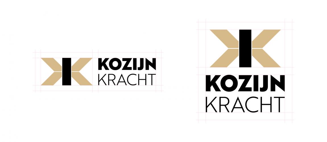 De Twee Basis Opties Van Het Logo Voor Kozijnkracht