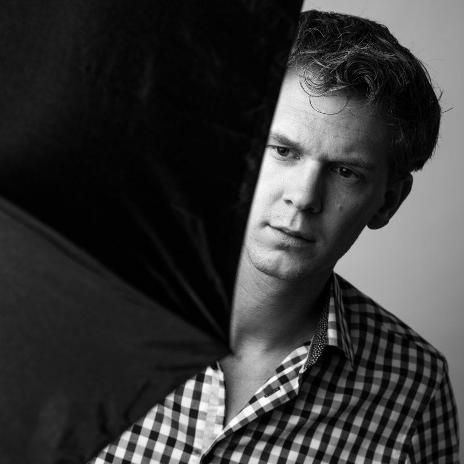 Zelfportret van Christian Reijnoudt